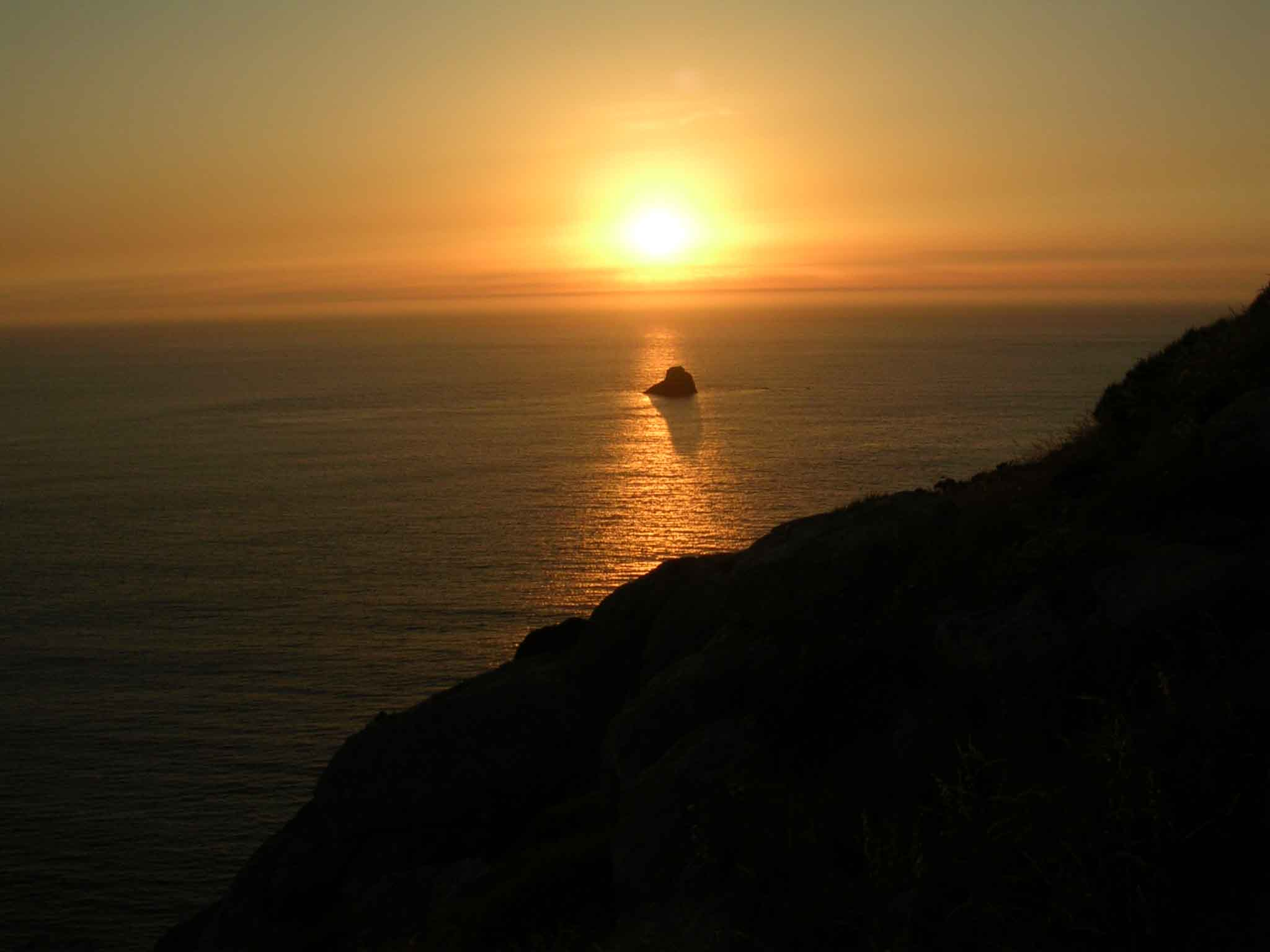 ATARDECER FINISTERRE