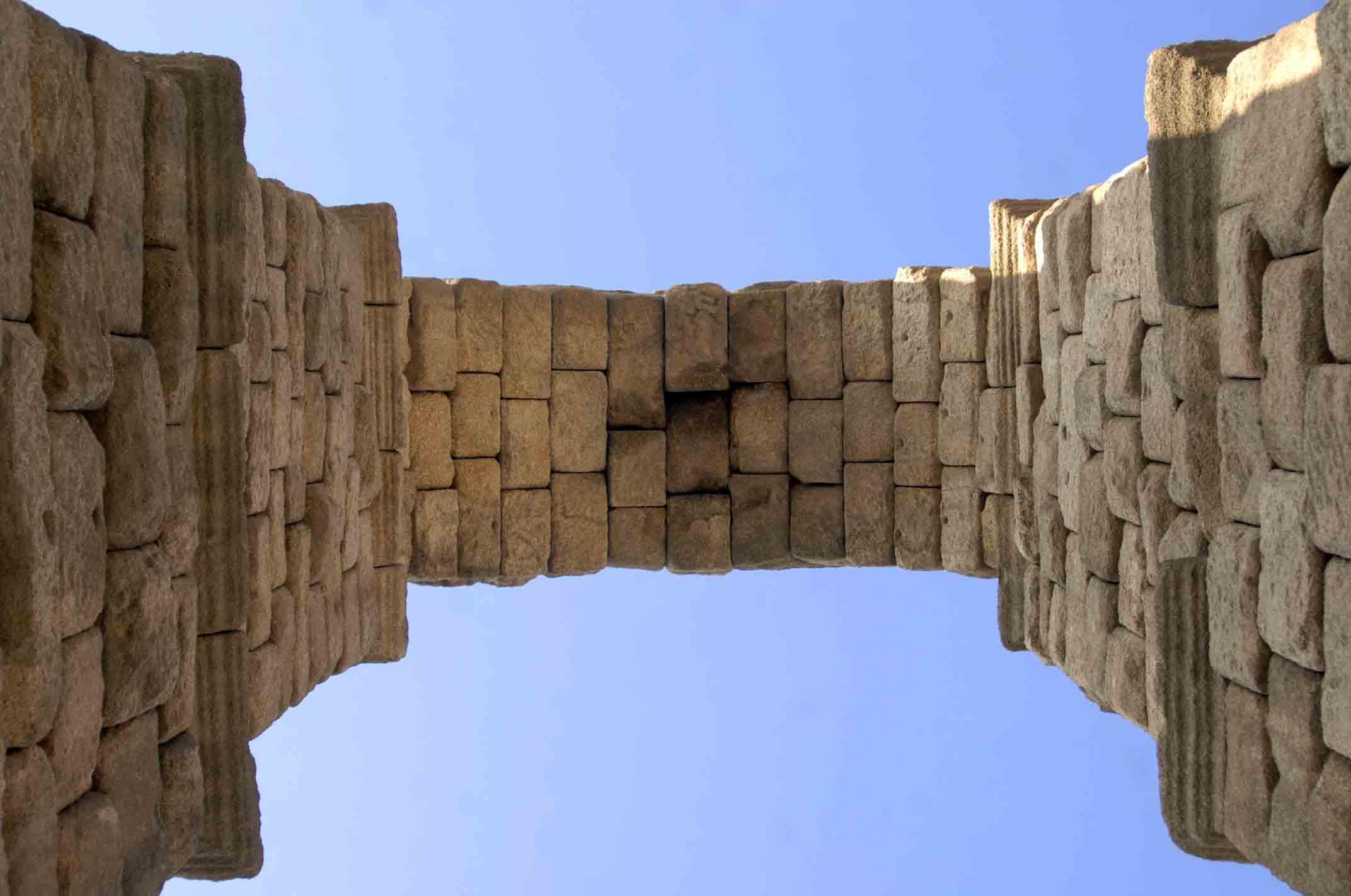 arco del acueducto de segovia