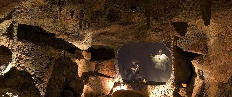 cueva guixas-centro interpretacion