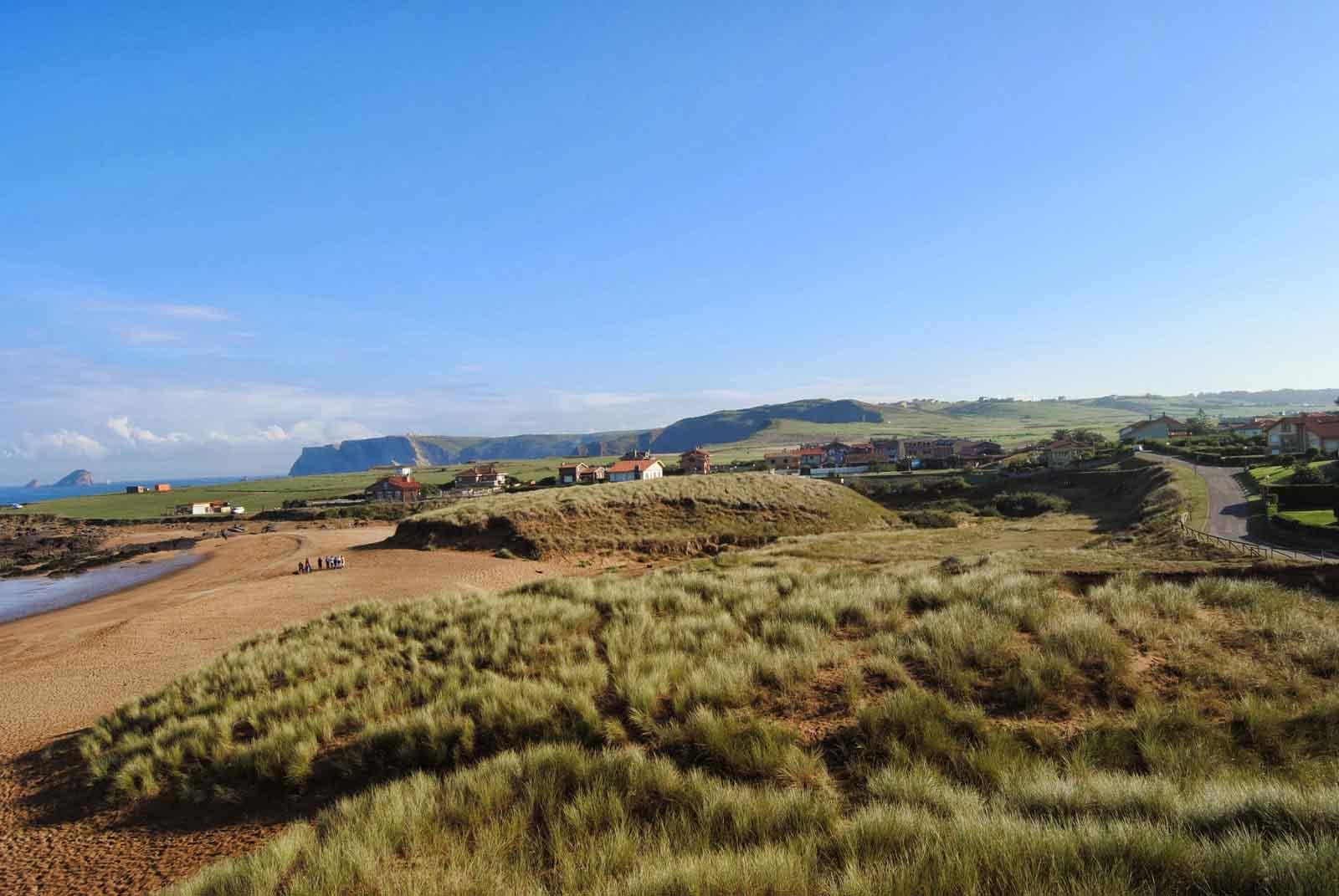 campo dunar playa verdicio