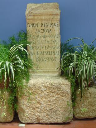 inscripcion romana termas de alange