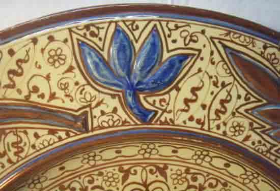 ceramica reflejo metalico