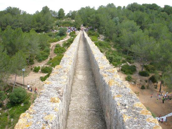 caudal puente del diablo