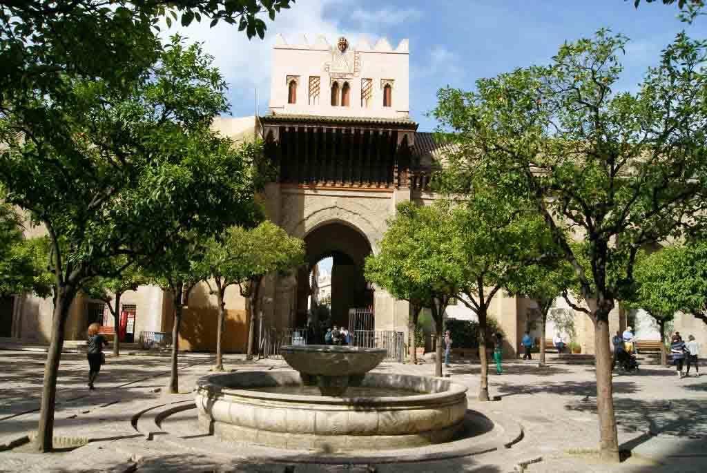 abluciones antigua mezquita aljama