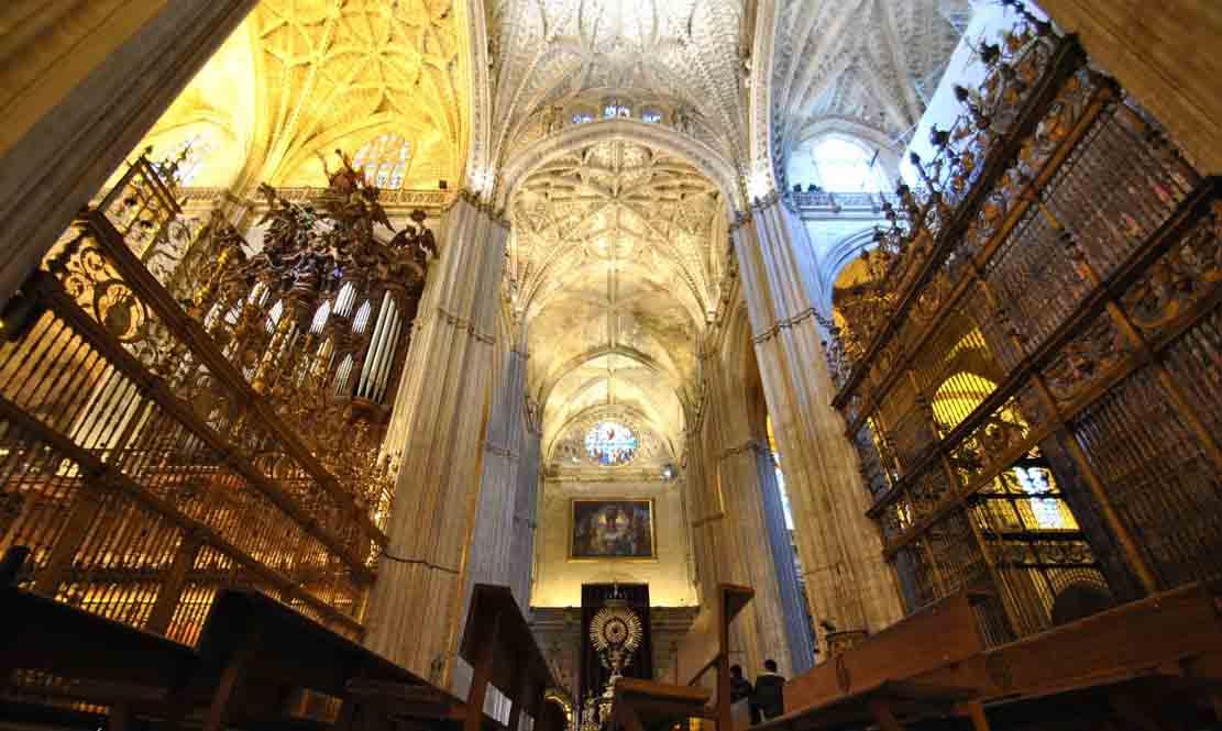 nave central catedral de sevilla