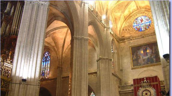 pinturas catedral de sevilla