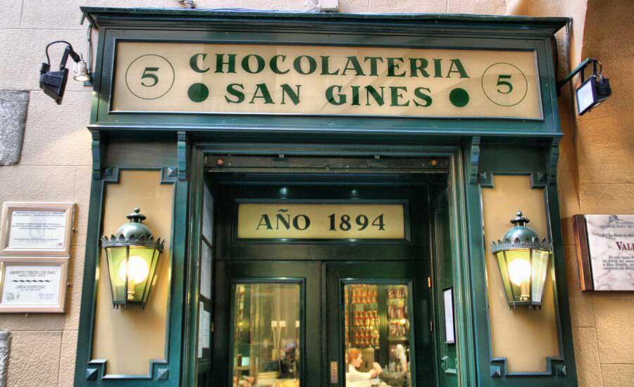 CHOCOLATERIA EN ESPAÑA SXVIII