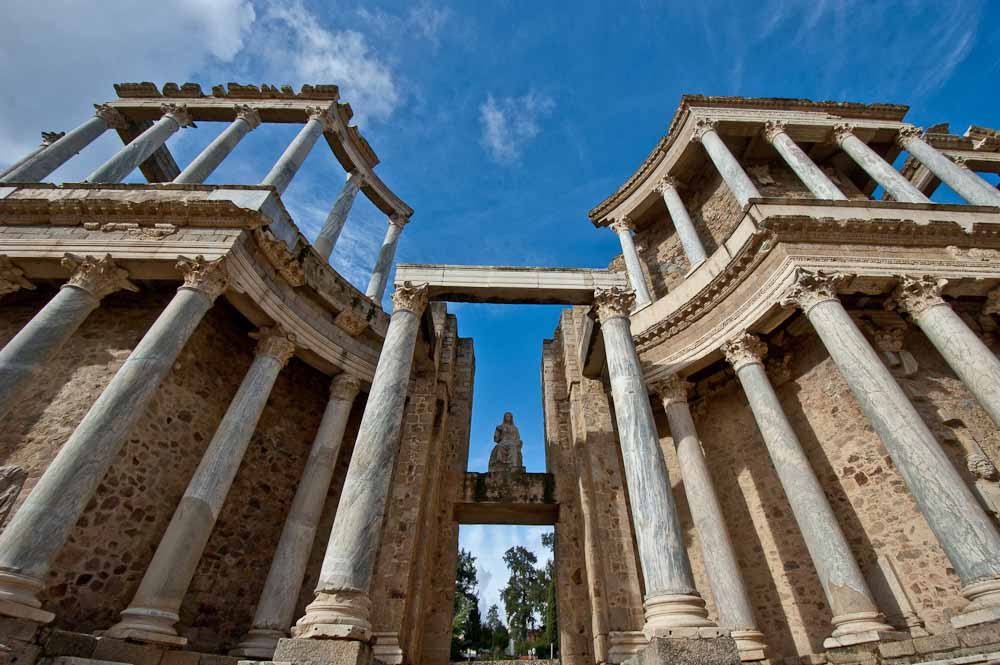 Merida-Teatro-Romano-frons-scaenae