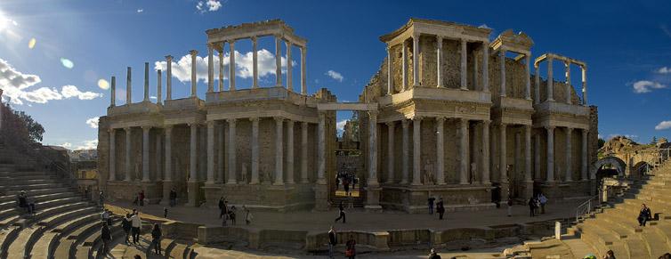 Merida-Teatro-Romano