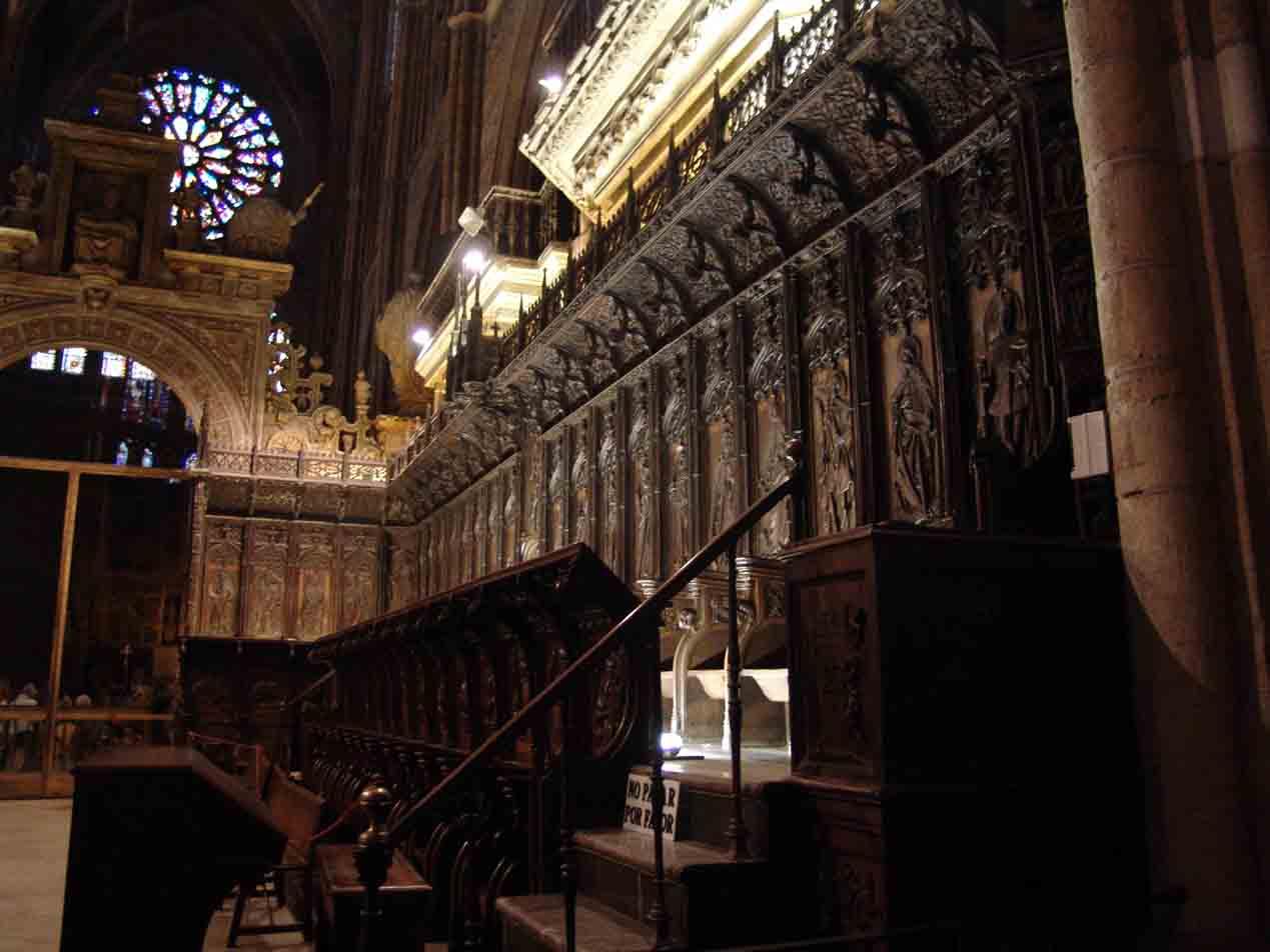 catedral-de-leon-coro