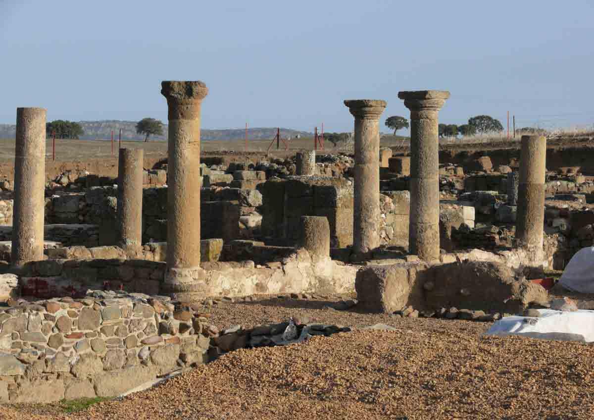 yacimientos arqueológicos de La Bienvenida