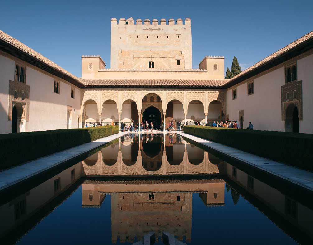 Alhambra de granada maravillas de espa a por sole for Casa actual