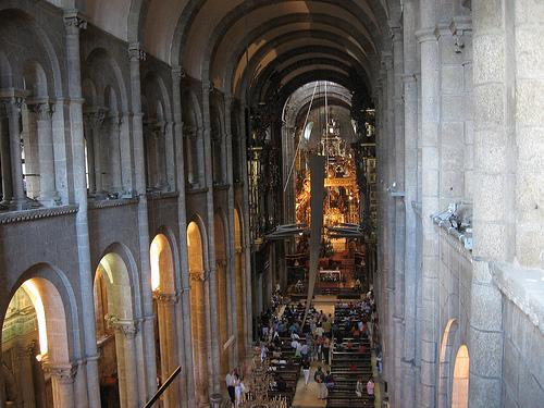 Catedral-Santiago-de-Compostela-interior