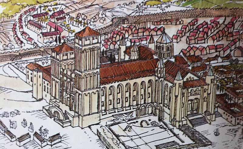 Catedral-Santiago-de-Compostela-sXII