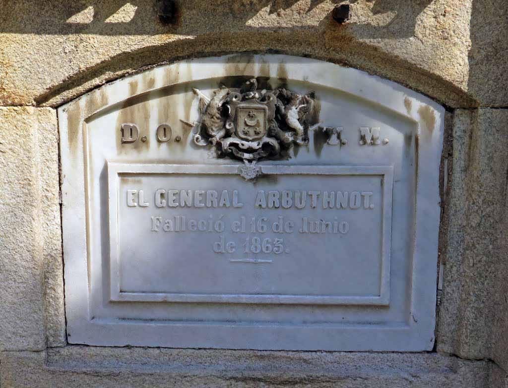 cementerio-San-Amaro-general-James-Arbuthont