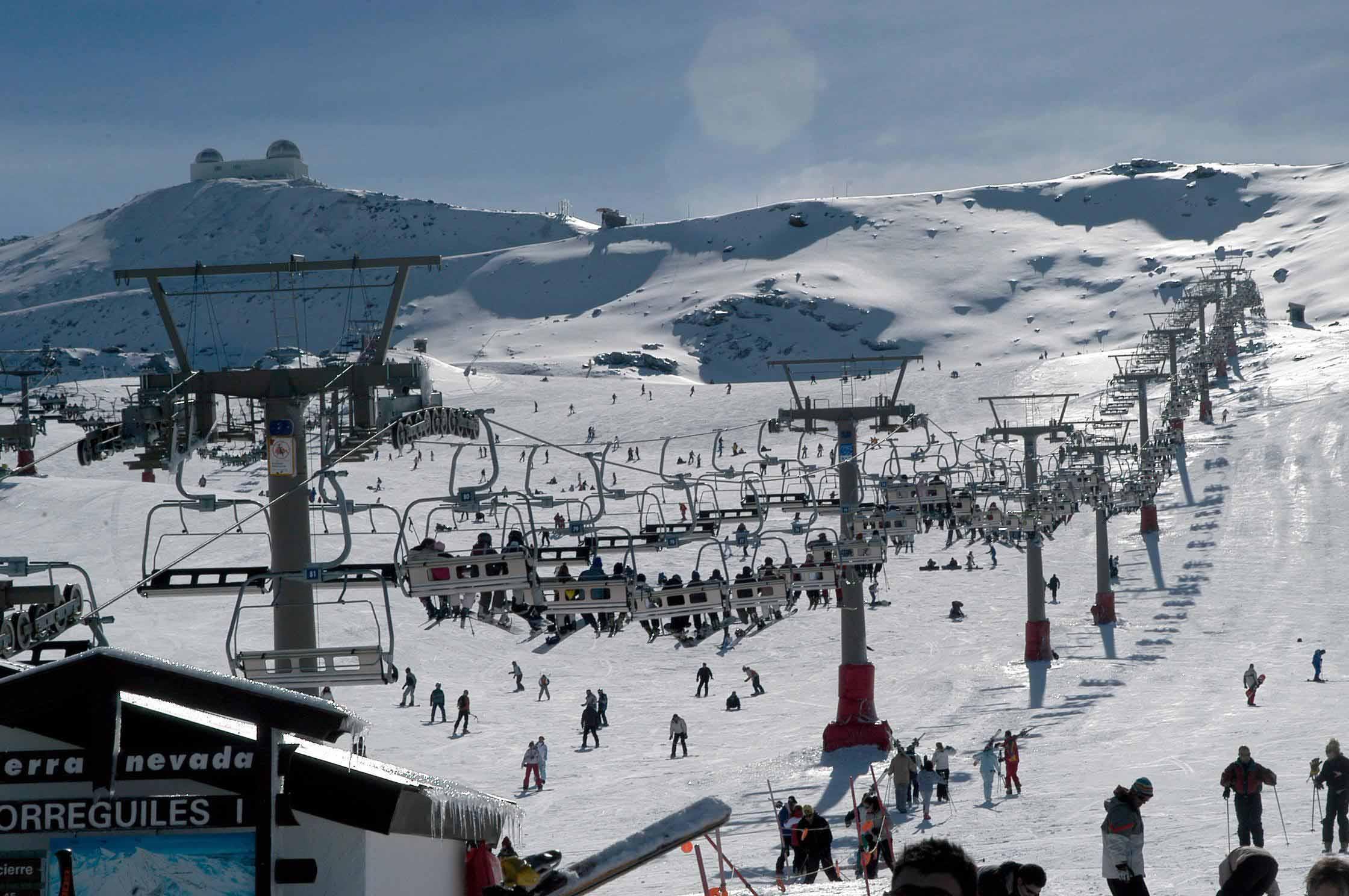 estación-de-esquí-Sierra-Nevada