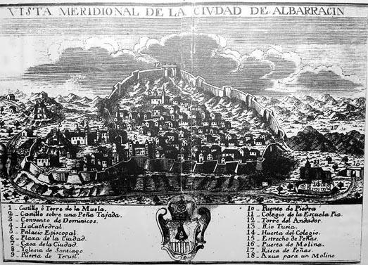 Albarracín-historia