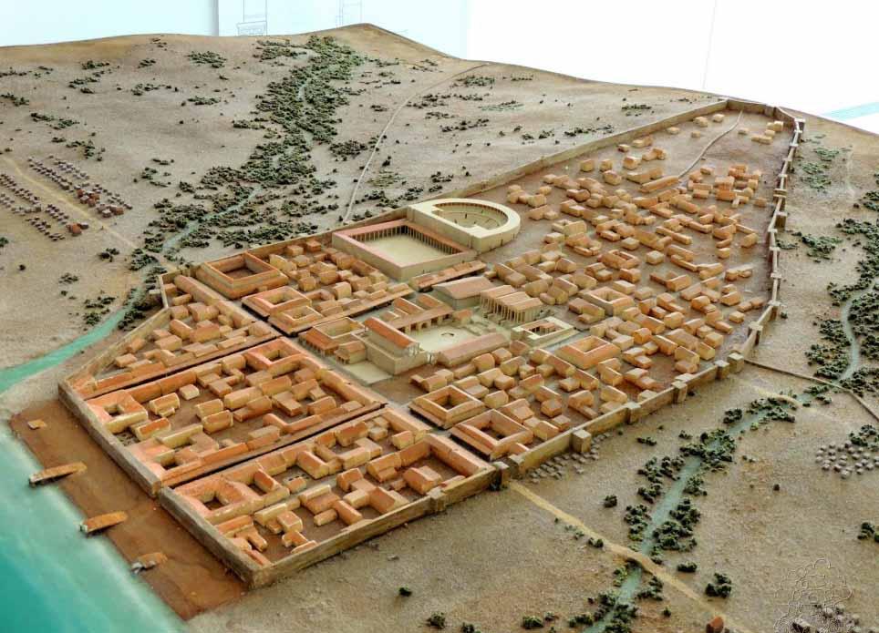 Ruinas-de-baelo-claudia-maqueta-conjunto